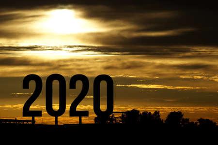 The year 2020 Zdjęcie Seryjne