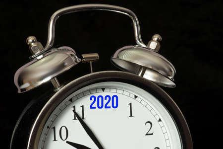 Year 2020 and an alarm clock