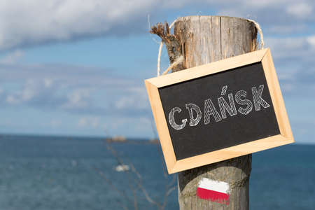 Holiday by the sea in the Polish Gdansk Stock fotó