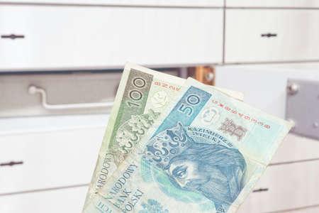A safe and money Polish zloty PLN