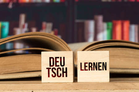 A book and learning German