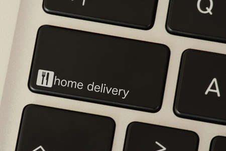 Computer and key for food delivery service