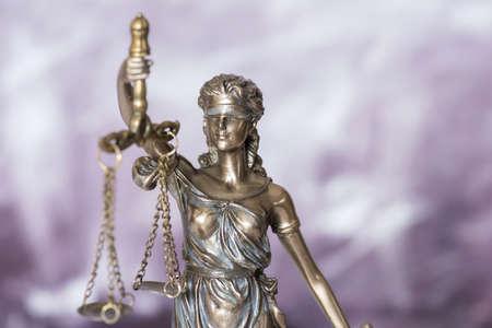Justitia goddess of justice