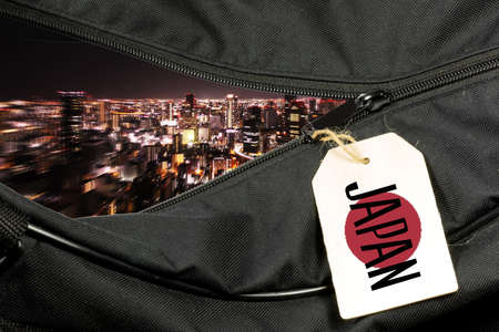 A bag and vacation in Japan