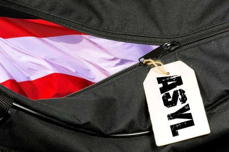 Asylum in Austria and a bag