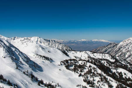 Salt Lake Valley and Little Cottonwood Canyon