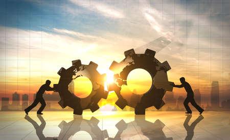 비즈니스 혁신 세계 창조적 아이디어 스톡 콘텐츠