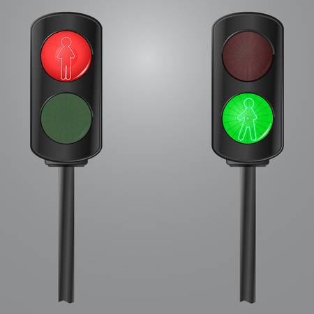 stop and go light: Motion. Traffic light. Stop and go.