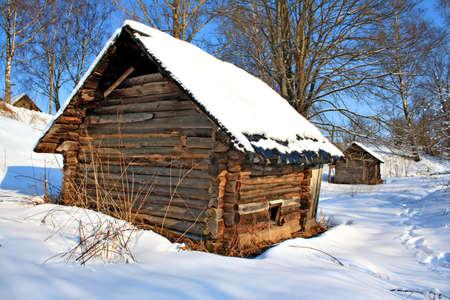 rickety: old farmhouse