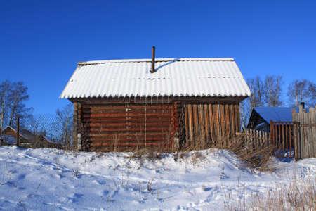 old wooden farmhouse Stock Photo - 6002038
