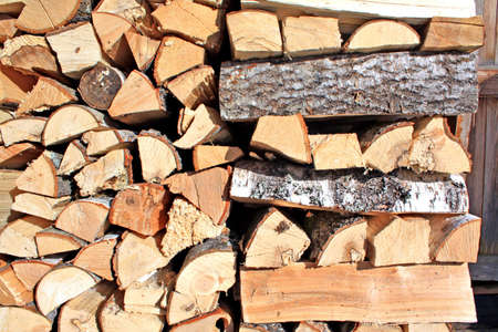 stack of logs Stock Photo - 6002126