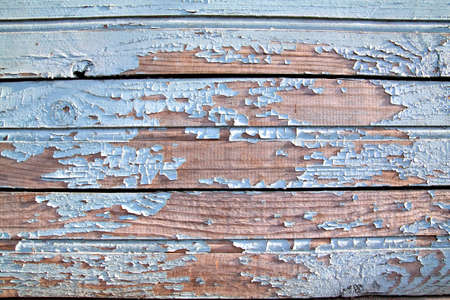 penal institution: aging wooden wall