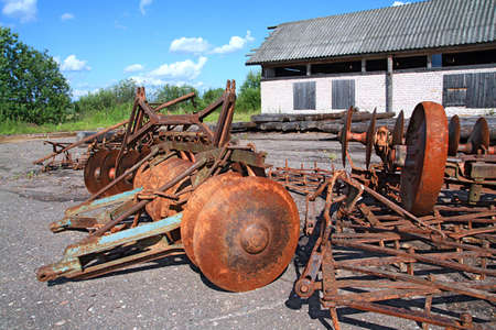 old agricultural mechanisms Stock Photo - 6053271