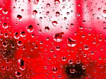 photorealism: dripped on glass