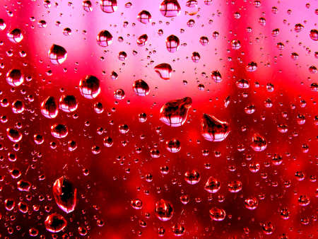 dripped: dripped on abstract background