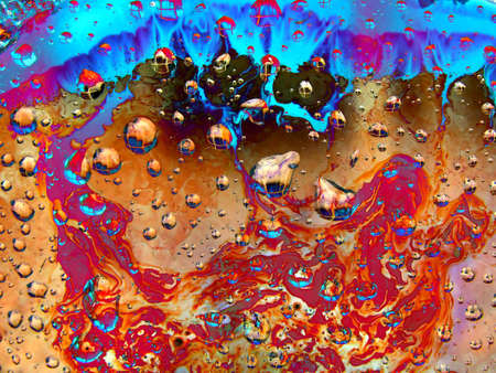 dripped on abstract background      photo