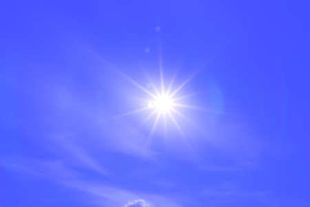 sun on sky photo