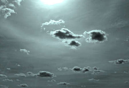 cloud on dark sky    Stock Photo - 6232572