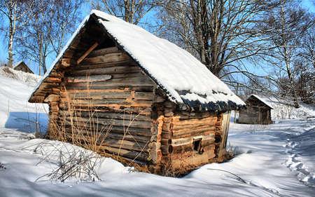 ramshackle:  old farmhouse