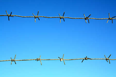 barbed wire Stock Photo - 6844336