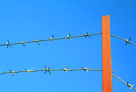 barbed wire Stock Photo - 6844313