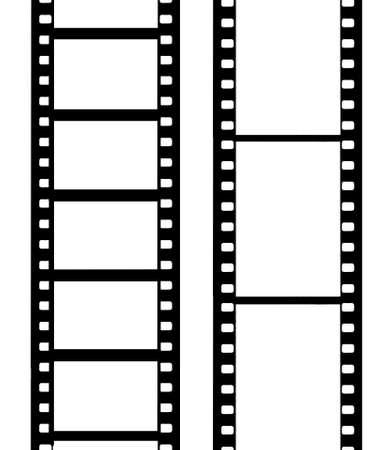 cinema old: pellicola fotocamera  Vettoriali