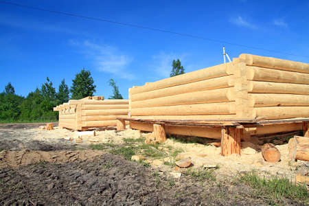 new wooden house Stock Photo - 7656288