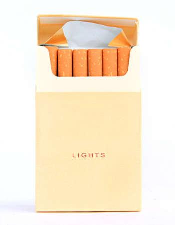 cigarette pack Stock Photo - 7657281