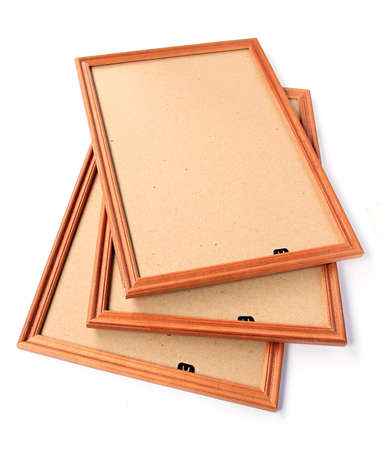wooden frame for pictures Stock Photo - 7657000