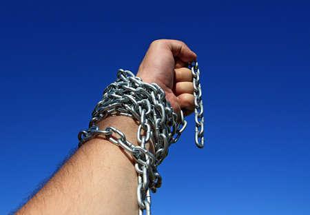 hand chain photo