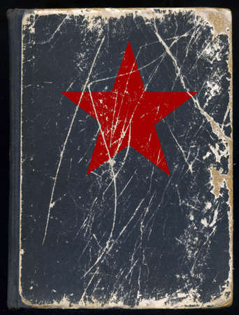 cover of the old book Stock Photo