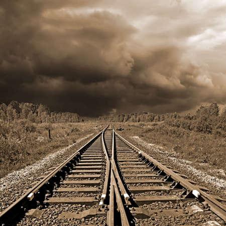 rail travel: railway