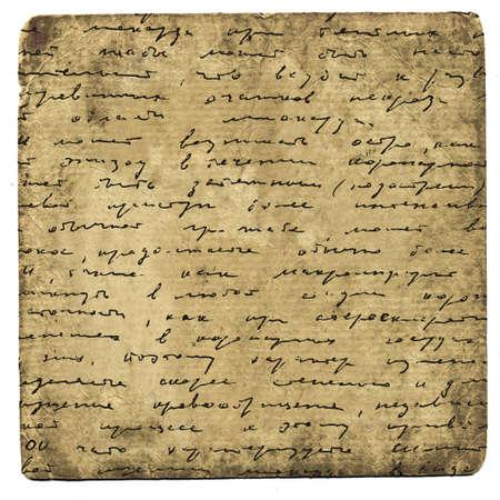 manuscrita: fundo grunge Banco de Imagens