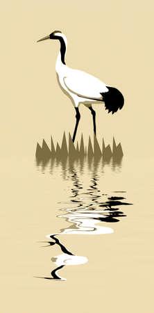silhouette crane photo