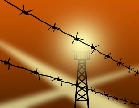 barbed wire Stock Photo - 8174182