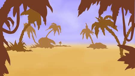 tropical landscape Stock Photo - 8172370