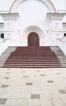 entry in christian orthodox church photo