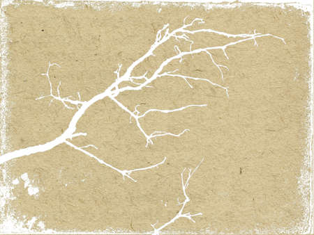 spoiled frame: vector texture of the old paper