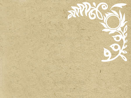 texture of the old paper Vector
