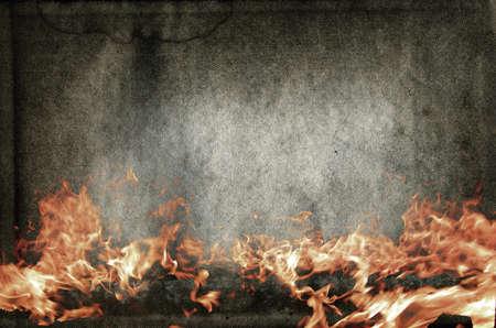 quemado: Fondo de grunge