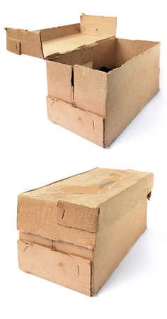 aging carton Stock Photo - 8486261
