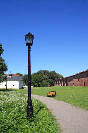 torch in park photo