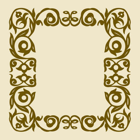 vector ornament  Stock Vector - 9166009