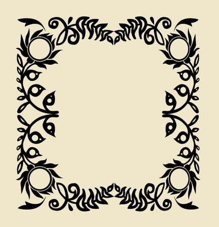 vector ornament  Vector
