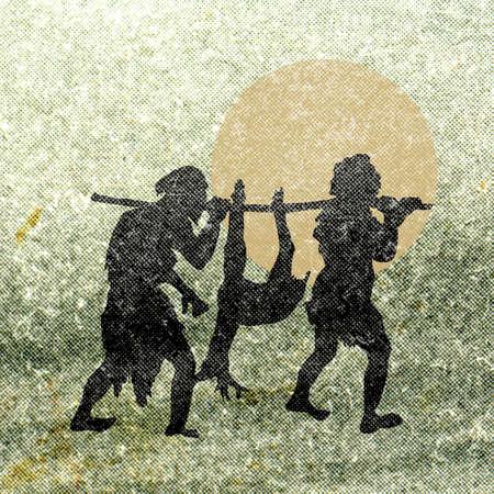 huntsman: grunge background
