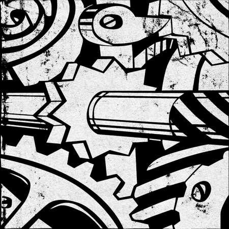 degraded: grunge background