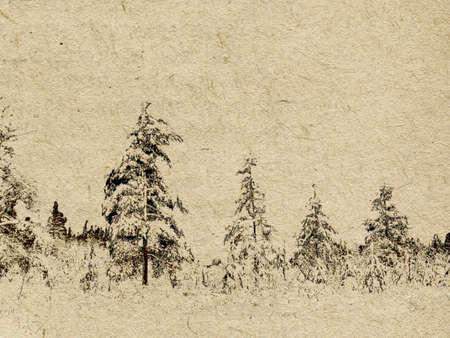spoiled frame:  grunge background Illustration