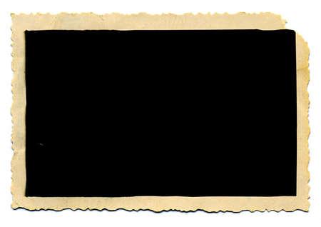 cartone strappato: carta fotografica di invecchiamento