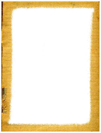rifts: decorative frame on white background
