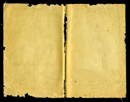 burnt paper: aging copy-book